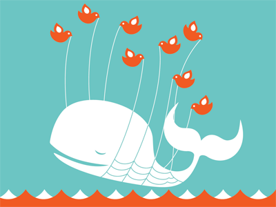 Twitter Fail Whale Created by Yiying Lu