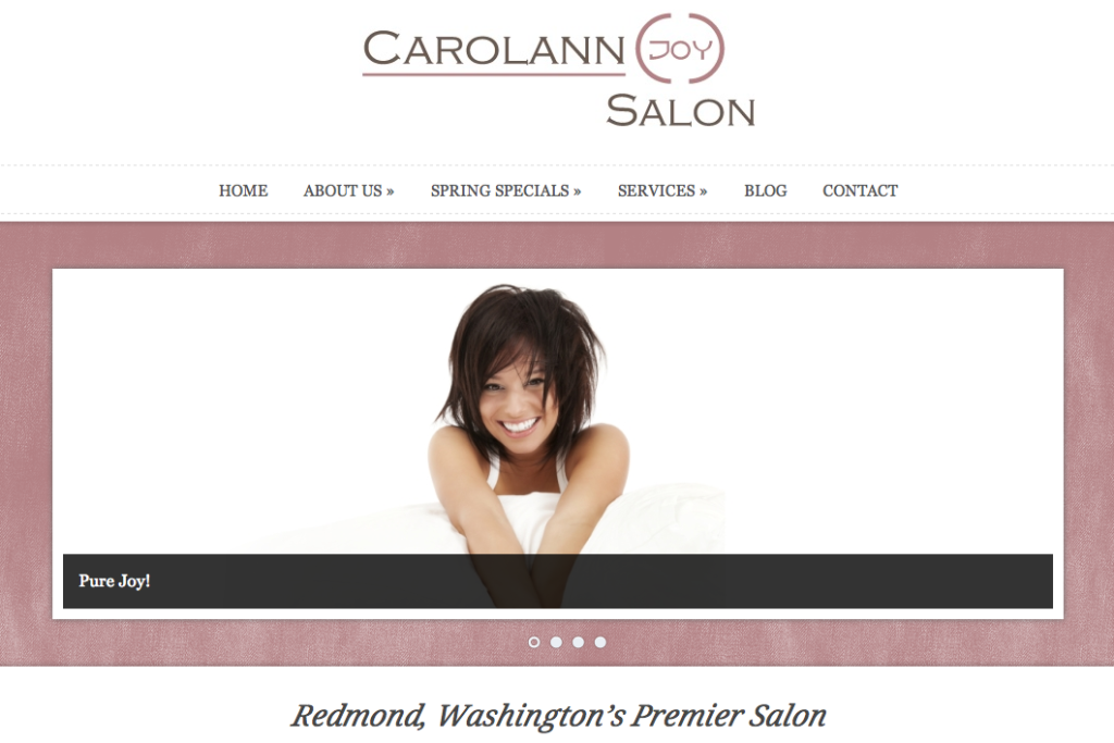 The Beautiful Side of Social: CarolAnn Joy Salon